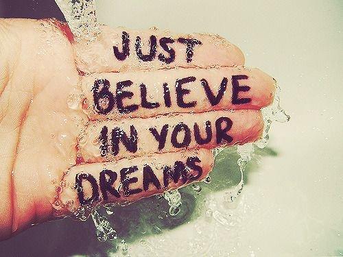 I dream...