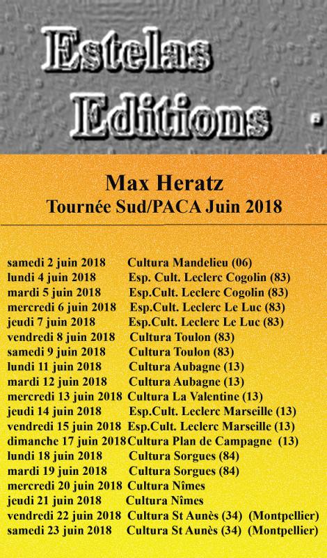 Tournée Sud/Paca Juin 2018