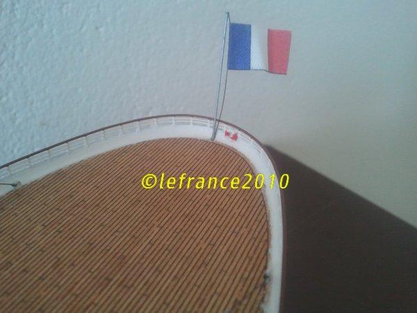 Le France est terminé