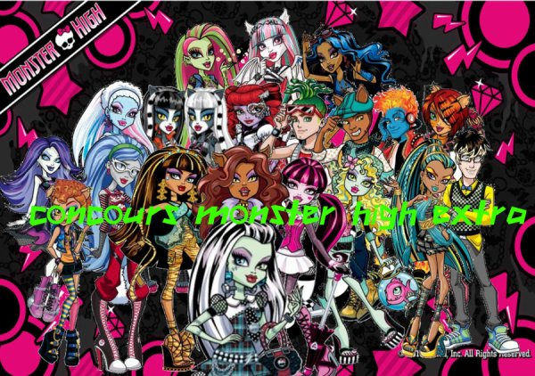 Concours monster high extra