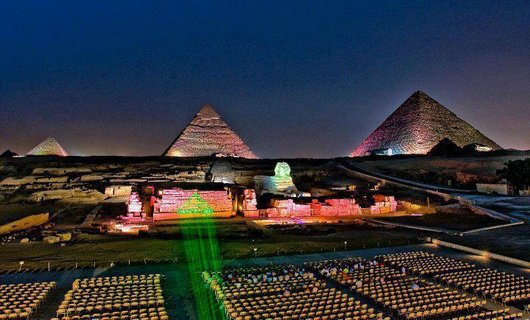 Egypt sound and light show