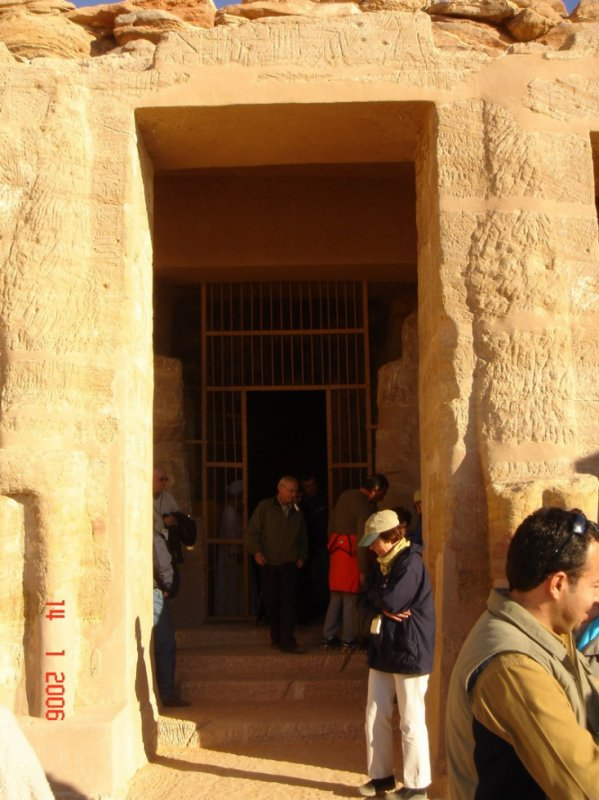 Visit Temple of Derr in Egypt