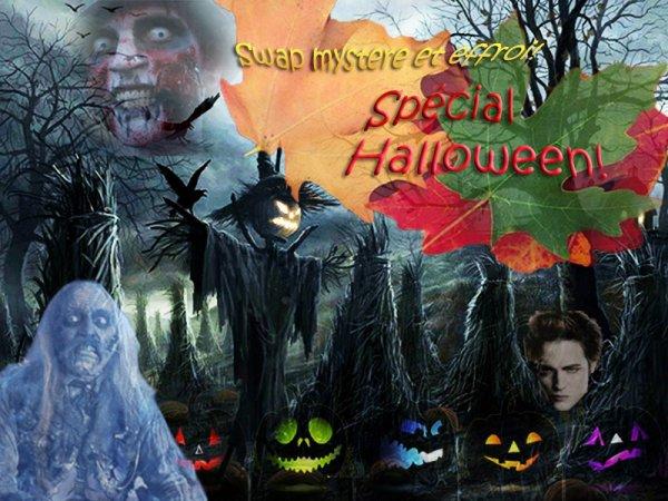 Swap Mystère et Effroi spécial Halloween !!!!