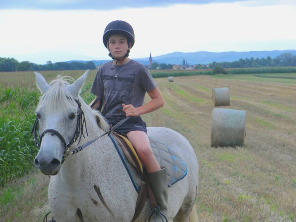 Moi et le cheval