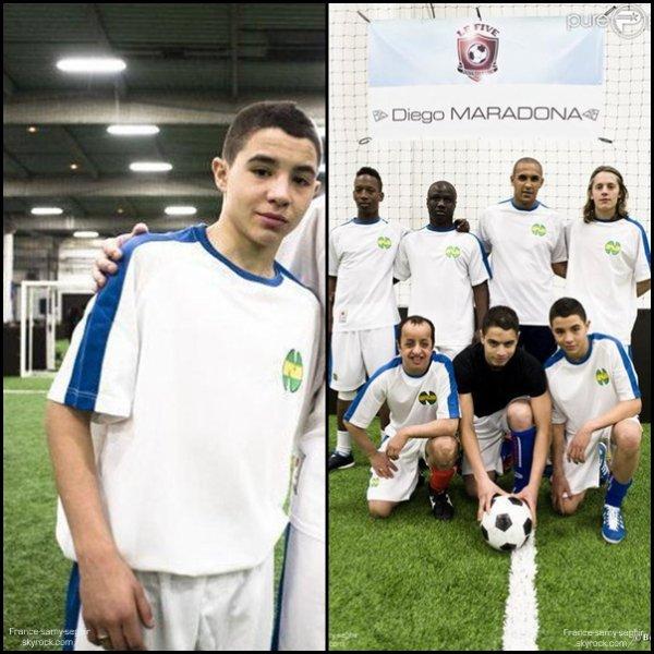 [20/12/12] Samy Seghir et son equipe de Foot!