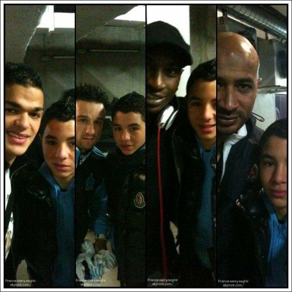 [31/12/10] Samy Seghir et Les jour De foot de Marseille et Paris !