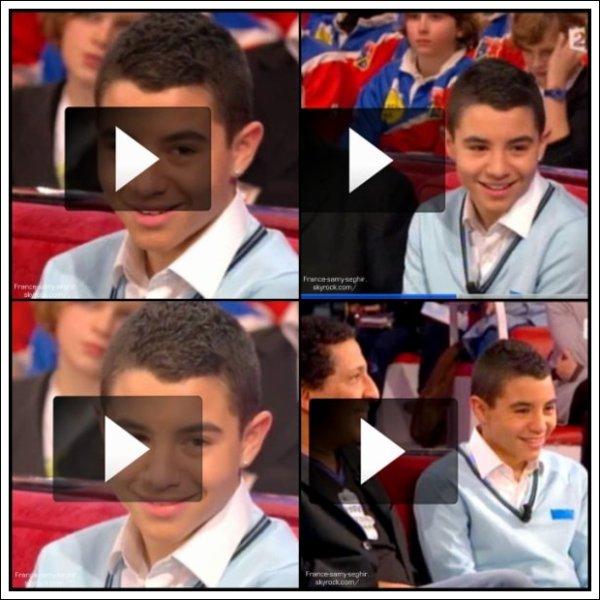 """[9/01/11] Photo de Samy Seghir sur France 2 Dans '""""Vivement Dimanche"""""""