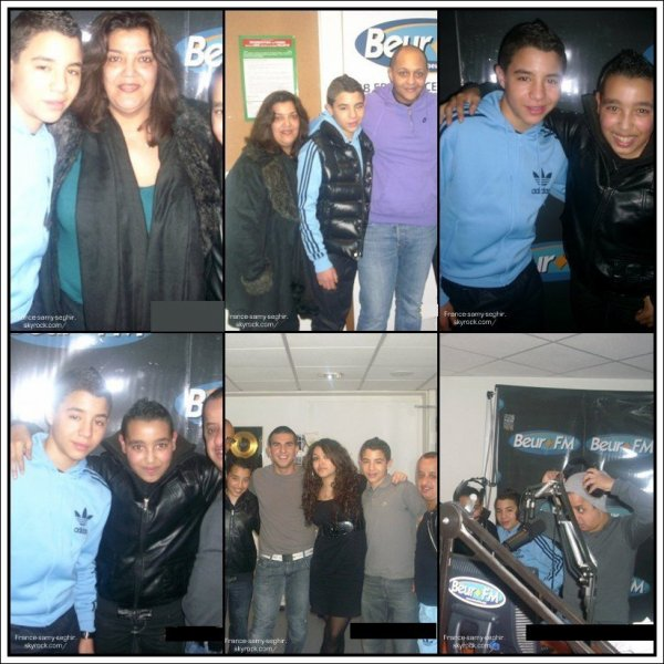 [30/01/11] Samy Seghir a la radio-studio BeurFm photo datent de 2010 .