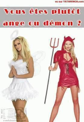 plus tot ange ou demons???????