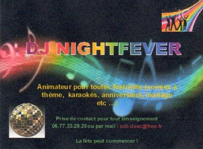 Ma carte d'animateur DJ