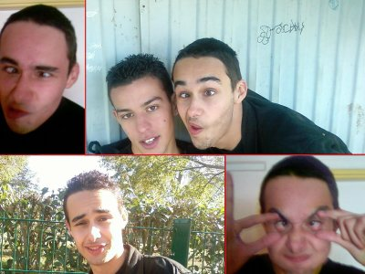 Les grimaces de tom
