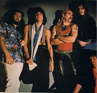Le groupe Ram Jam au complet