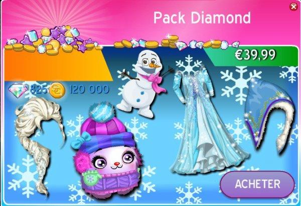 Pack Diamond MSP