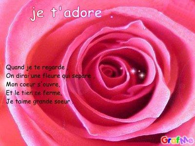Poeme Pour Grande Soeur Nini Tkt 62