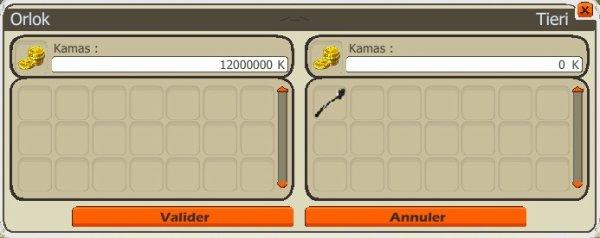 Commande item Kolosso