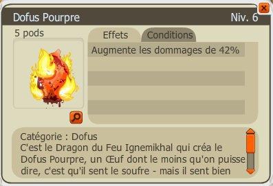 Nouveau Dofus !!