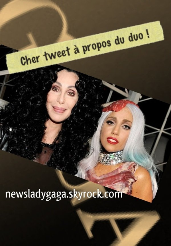 Cher tweet à propos du duo - The Greatest Thing