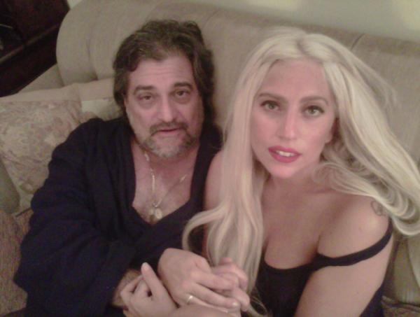 Lady Gaga et son père