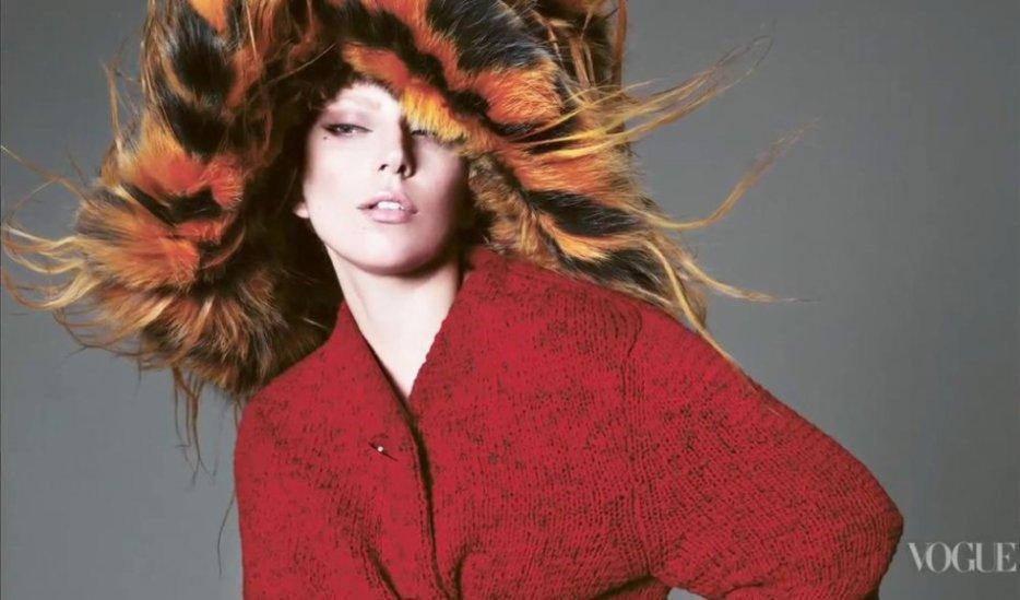Lady Gaga photoshoot °VOGUE2012°