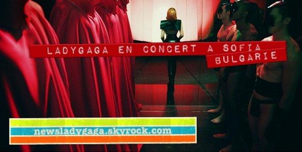 LADY GAGA EN TOURNEE EUROPEENNE ! première partie