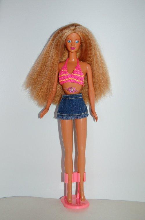 Barbie butterfly art 1998