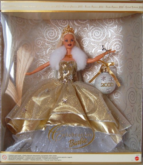 Barbie happy holidays 2000
