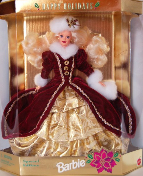 Barbie happy holidays 1996