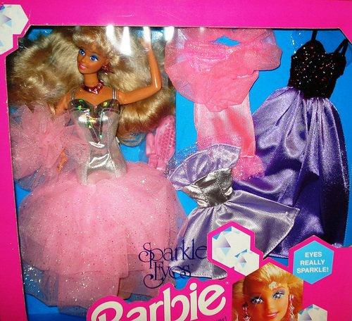 Barbie et ken sparkle eyes 1992