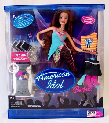 Barbie et tori american idol 2005