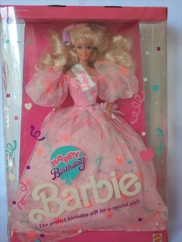 Barbie happy birthday 1991