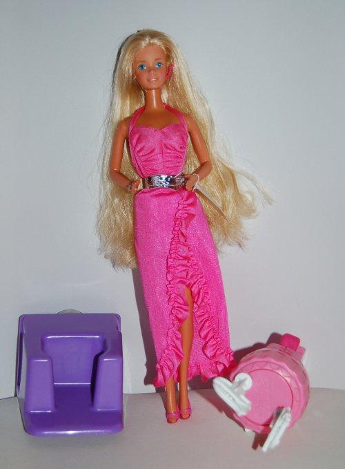 Barbie twirly curl 1983