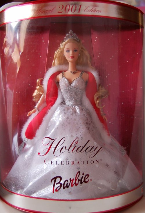 Barbie happy holidays 2001