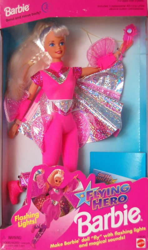 Barbie et kira flying hero 1996