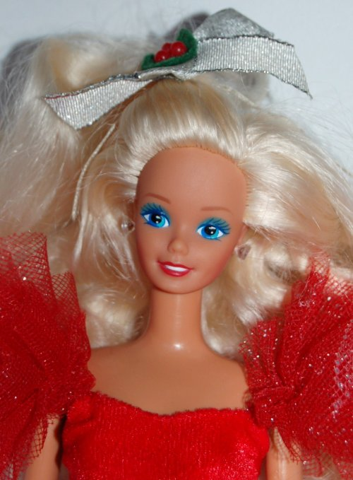Barbie happy holidays 1988