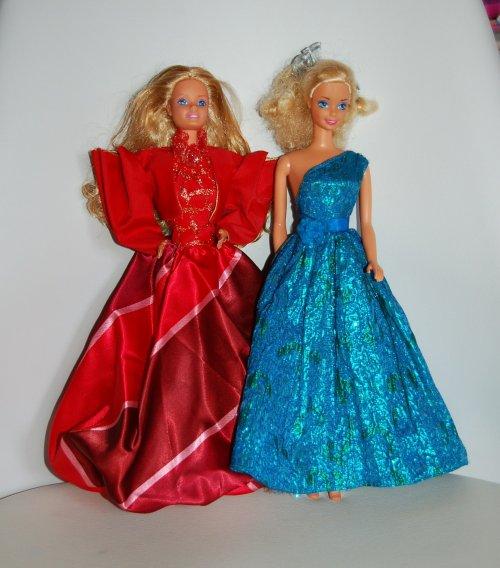 Tenue barbie oscar de la renta 1985