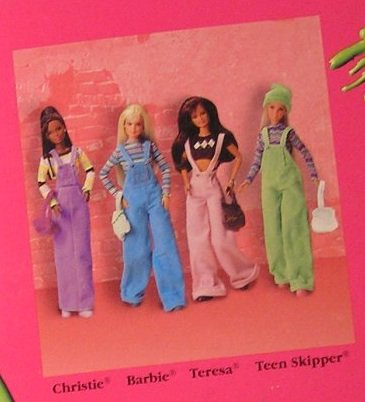 Barbie cool blue et teresa perfect pink 1997