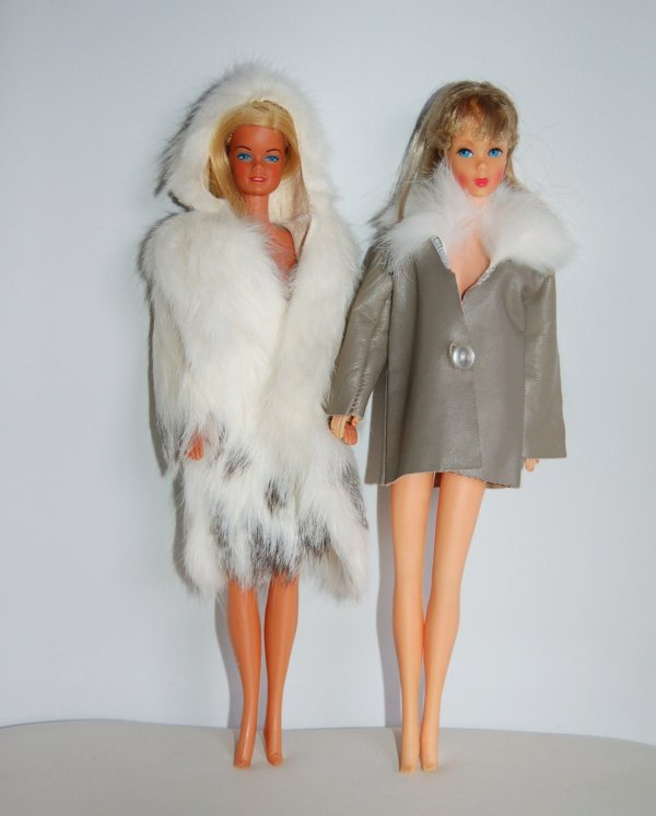 Tenue barbie collection fur 1980