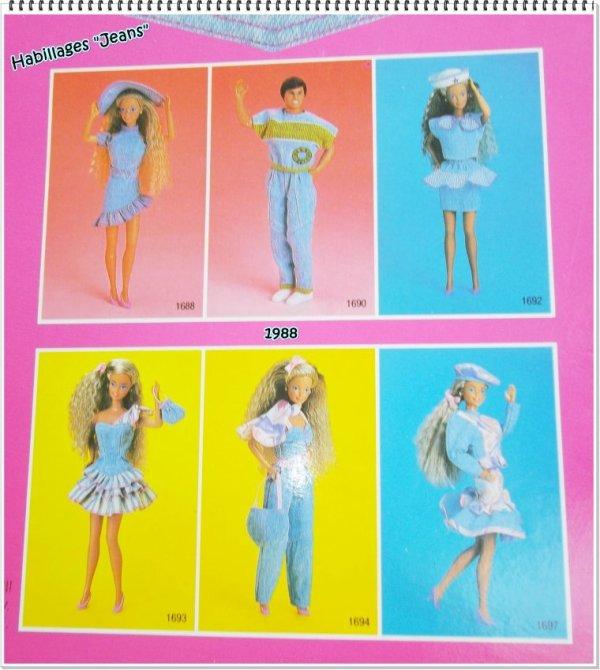 Tenues fashion jeans 1989