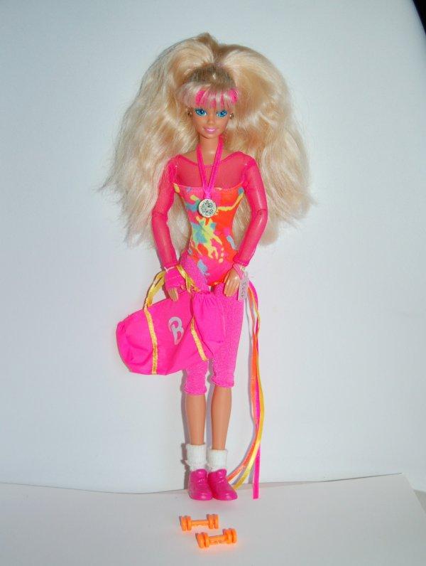 Barbie gymnast 1993