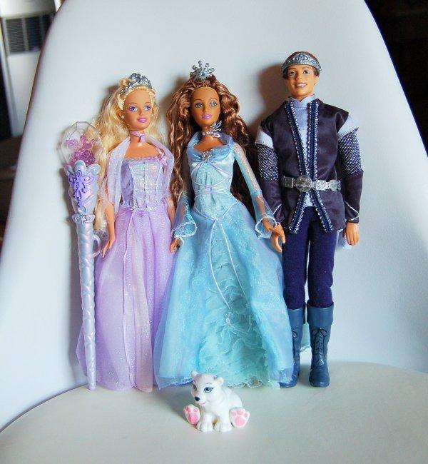 Princess Annika, rayla et prince aiden magic of pegasus 2005