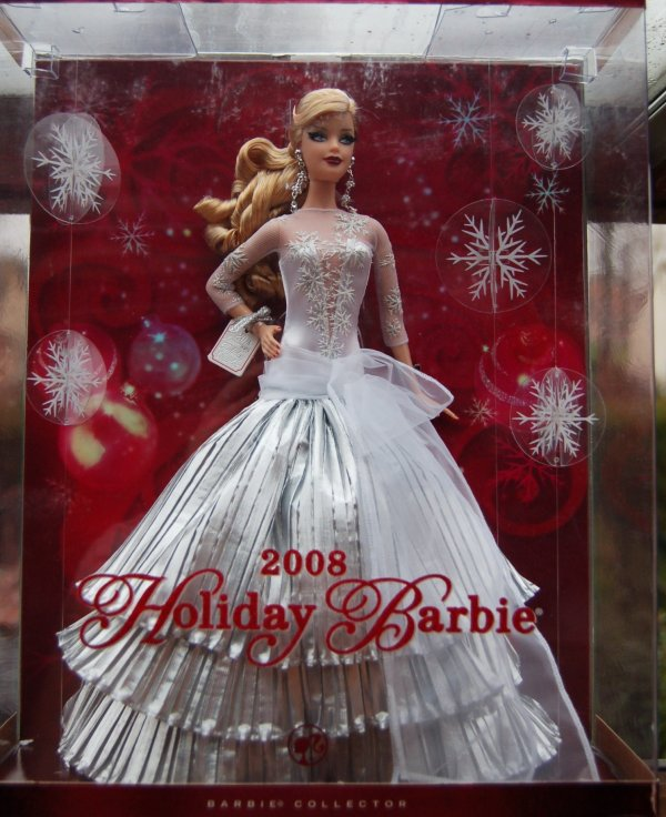 Barbie happy holidays 2008