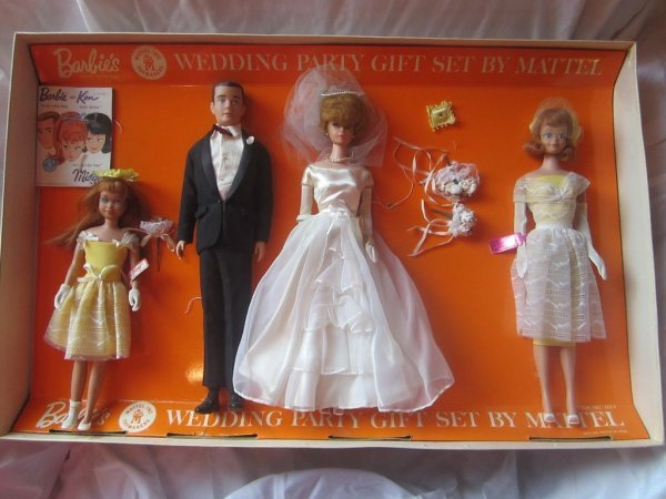 midge tenue wedding party #1017  1964-65