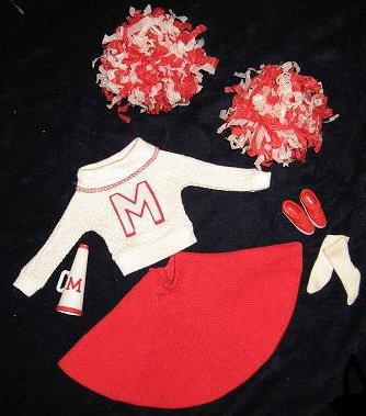 midge Tenue cheerleader #876  1964-65