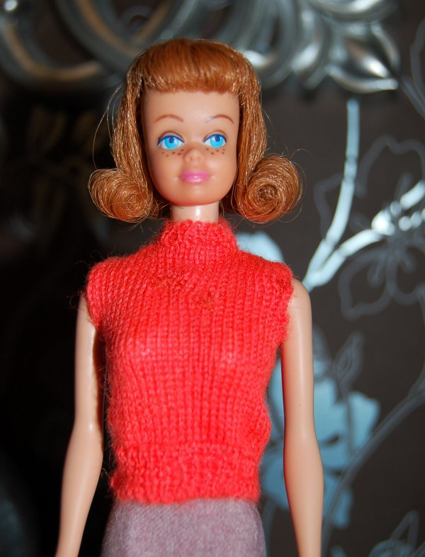 barbie Tenue sweater girl #976  1960