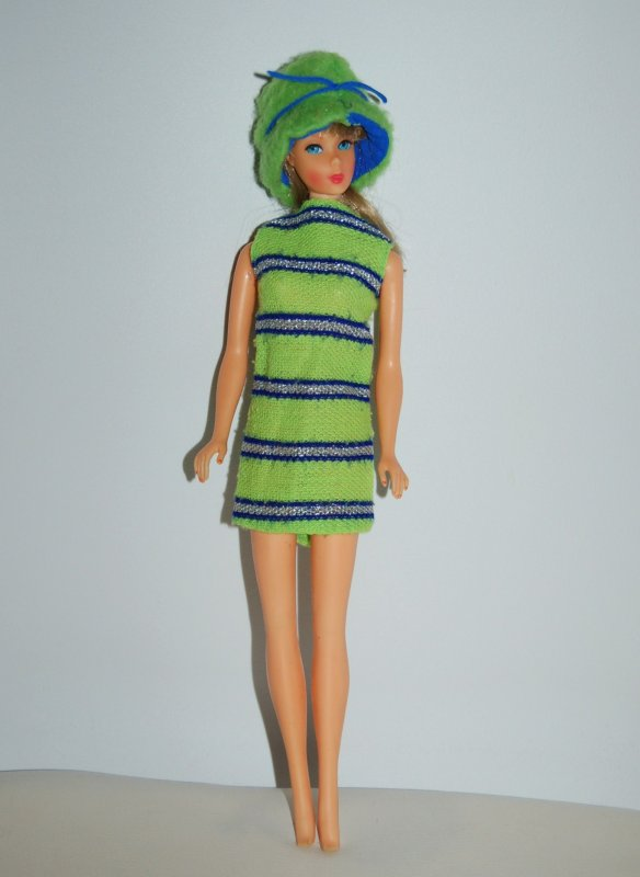 barbie Tenue now knit  #1452  1970