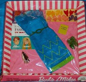 barbie Tenue junior designer #1620  1965-67