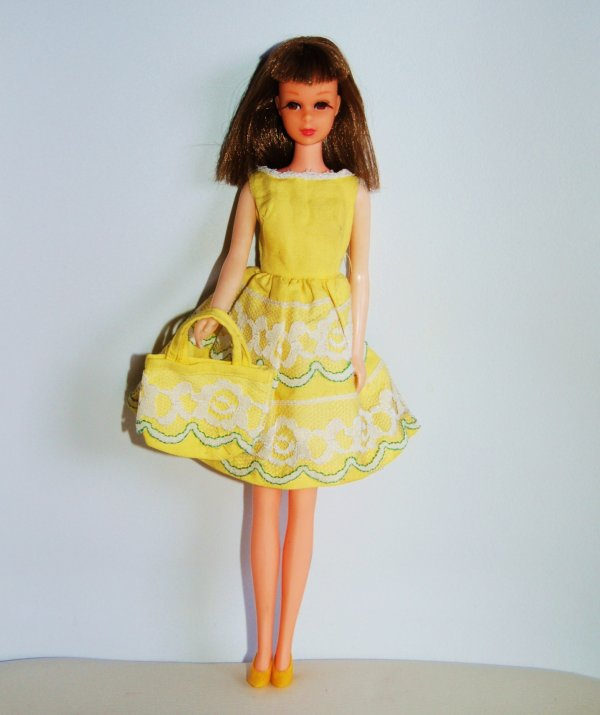 Francie tenue fresh As a daisy  # 1254  1965