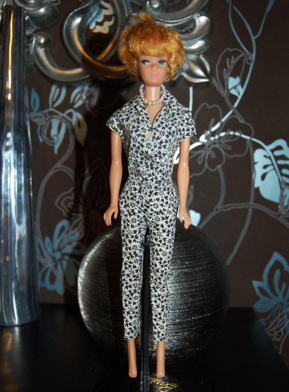 barbie Tenue coton mix n match group 1962-63