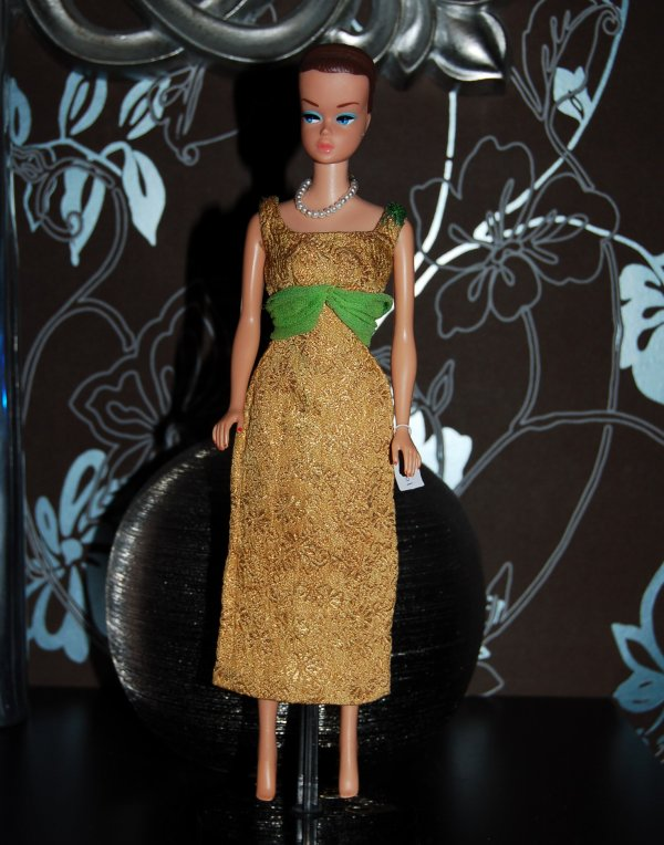 barbie Tenue golden glory #1645  1965-66