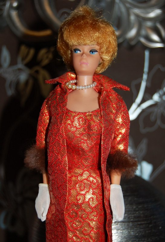 barbie Tenue golden élégance  #992  1963
